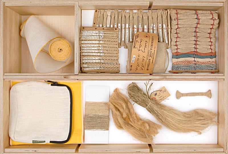 hampusta valmistettuja tekstiilituotteita